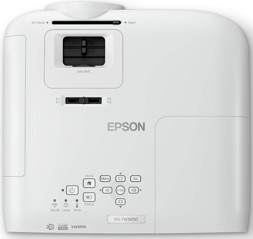 EH TW5650 lenshift
