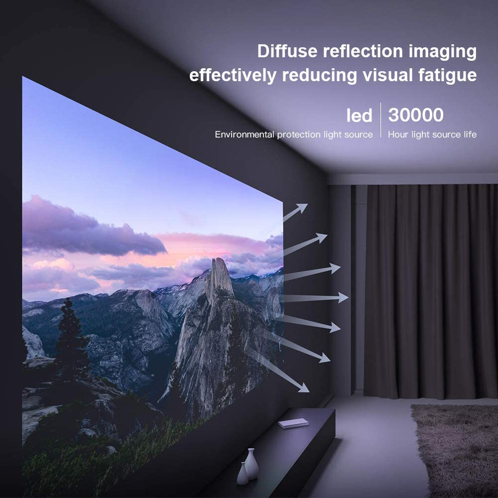 mi smart compact projector fonctions