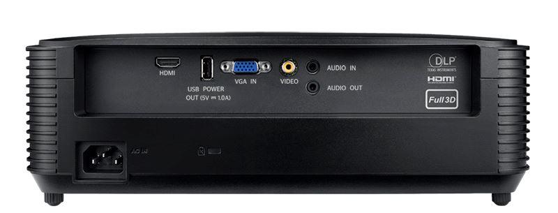 Optoma S334e connectique